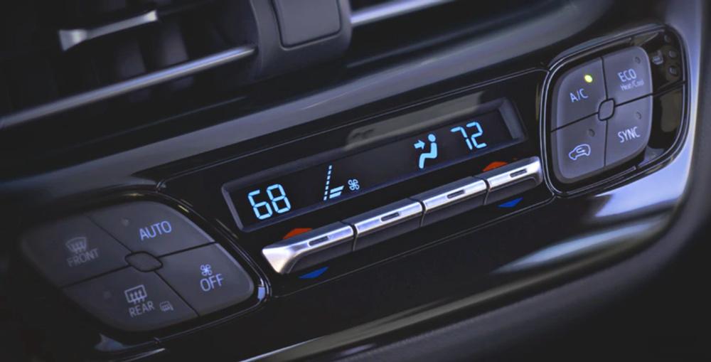 Hệ thống điều hòa hai vùng của Toyota C-HR 2019