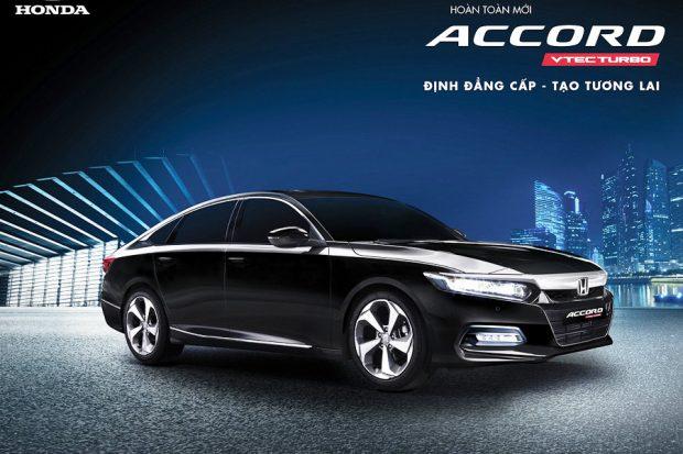 Honda Accord: Thông tin, Giá & Khuyến mãi 2019