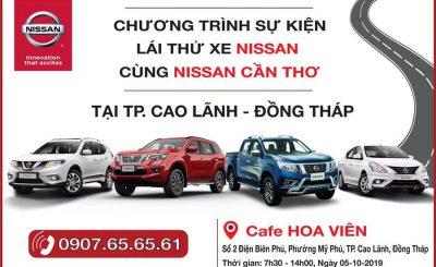 Lái thử Nissan Đồng Tháp