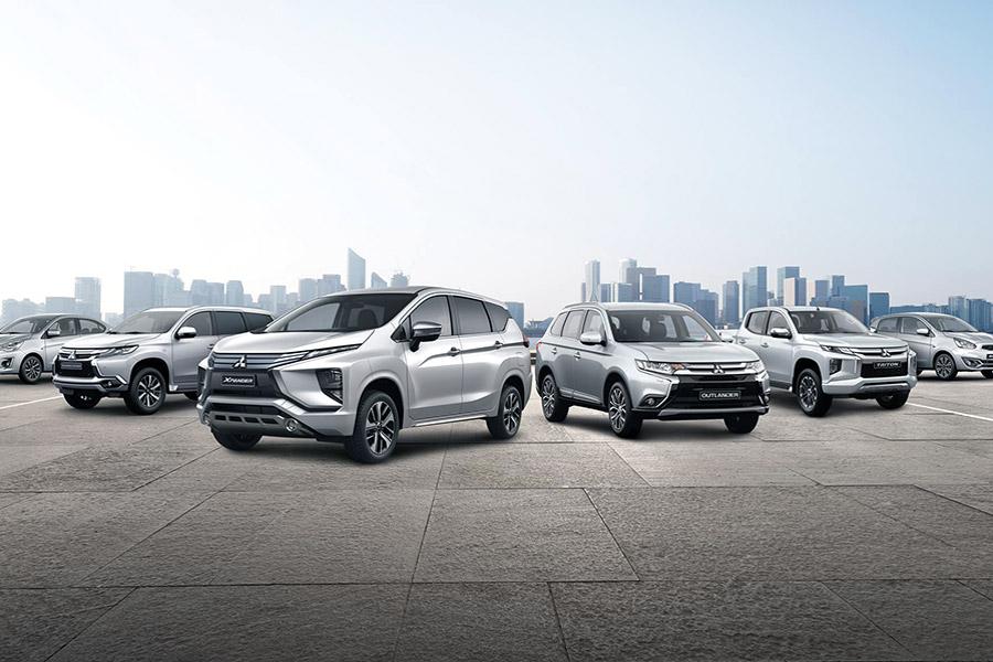Lịch trưng bày và lái thử xe Mitsubishi tại Miền Tây