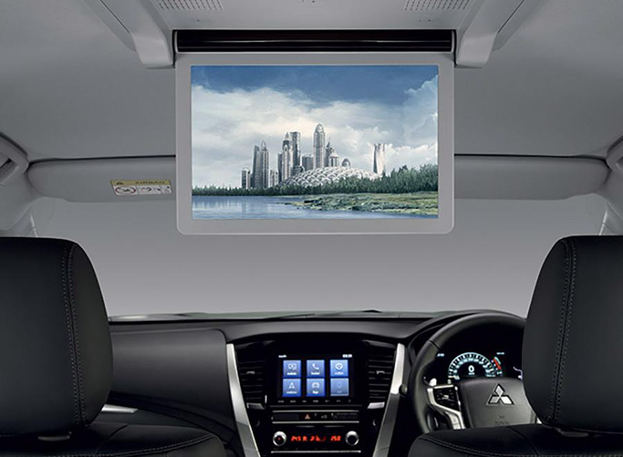 Mành hình giải trí 12 inch được trang bị trong xe