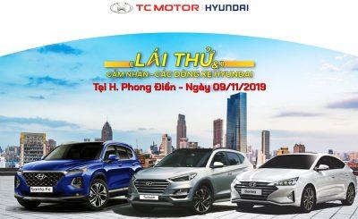Hyundai Cần Thơ tổ chức lái thử tại Phong Điền