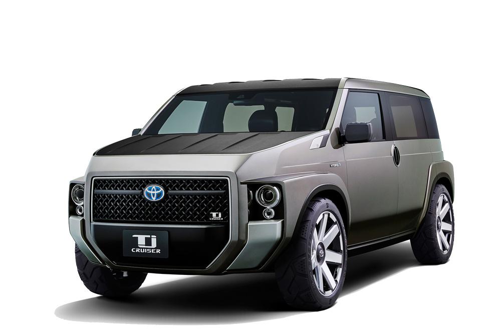 TJ Cruiser là mẫu xe ý tưởng của Toyota với thiết kế lai giữa xe tải và SUV
