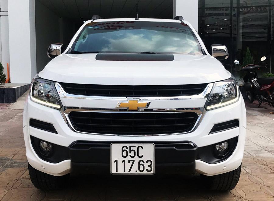 Xe Demo của Công ty Chevrolet Cần Thơ