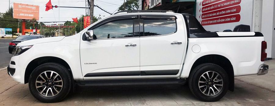 Xe cũ: Chevrolet Colorado 2018 màu trăng đẹp như mới