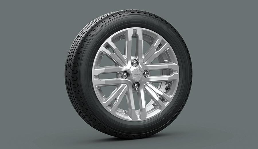 Mâm xe 15 inch thiết kế mới Mâm đúc hợp kim với thiết kế mới hiện đại và thể thao.