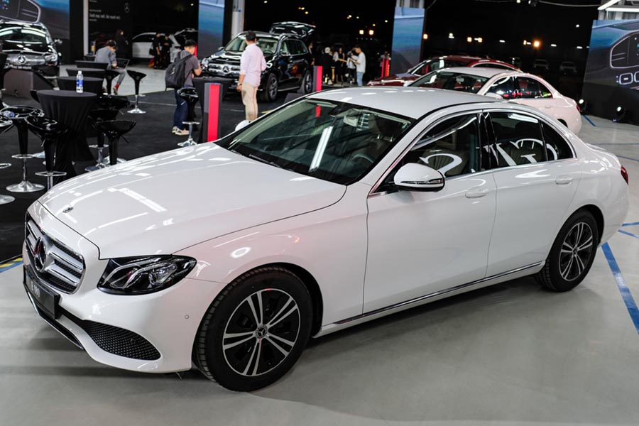 than xe mercedes e180 can tho