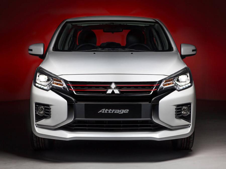 """Mitsubishi Attrage mới nay còn được khoác lên mình thiết kế """"Dynamic Shield"""" hiện đại và trẻ trung"""