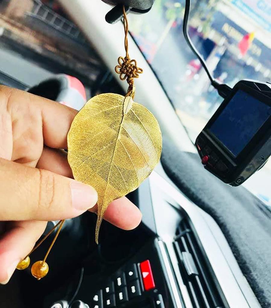 Lá bồ đề mạ vàng 24k - Bồ Đề Tâm An