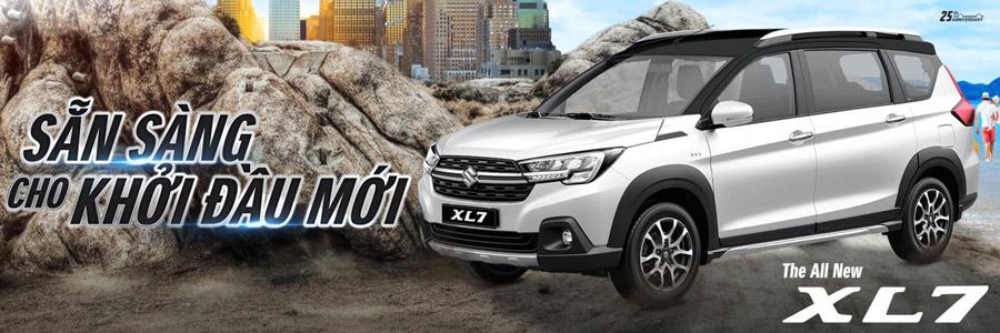 The All New Suzuki XL7 - Sẵn sàng cho khởi đầu mới.