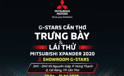 Trưng bày & lái thử: Mitsubishi Xpander 2020 Cần Thơ