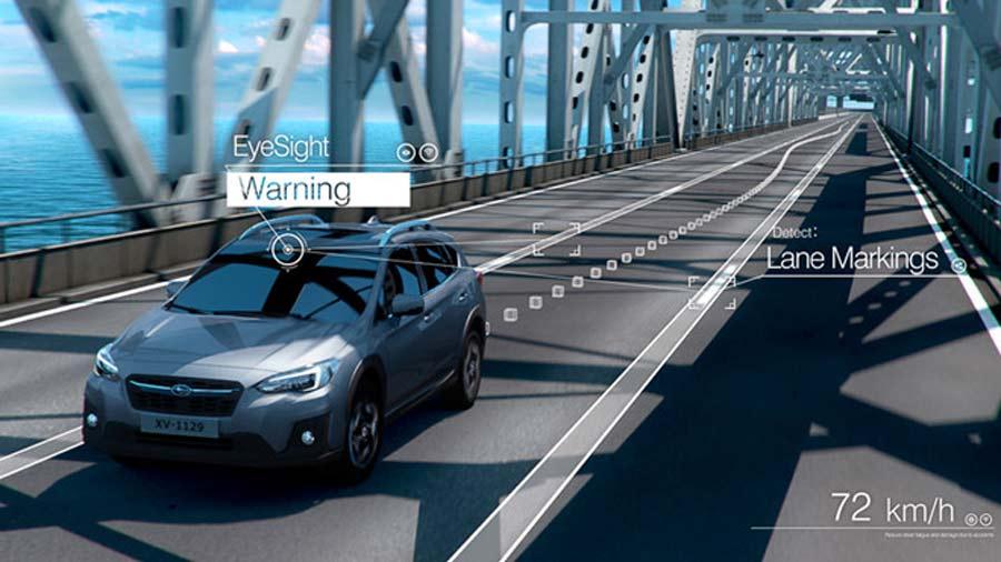 Khi di chuyển ở tốc độ trên 50 km/giờ, phương tiện nếu có xu hướng đi sát làn và bắt đầu rời khỏi làn đường mà không có tín hiệu, hệ thống sẽ cảnh báo