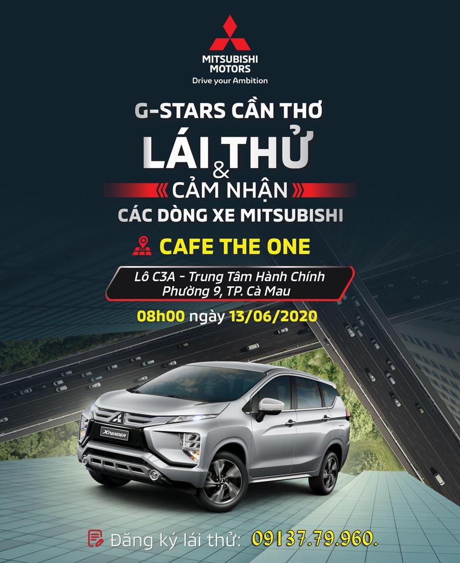 Mitsubishi Cà Mau: Chương trình lái thử & cảm nhận