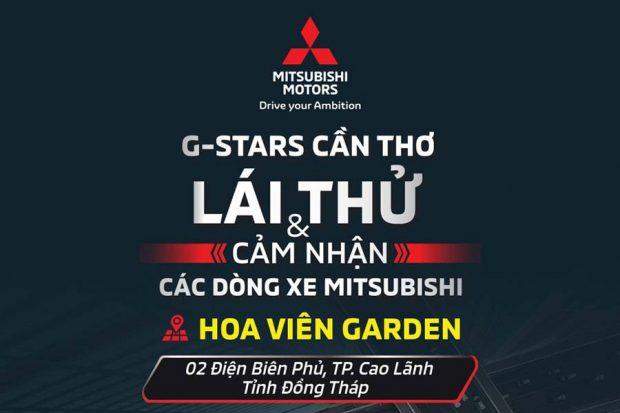 Mitsubishi Đồng Tháp: Lái thử & Hỗ trợ mua xe Trả Góp