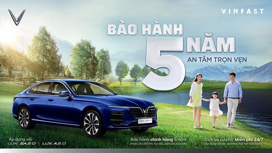 vinfast bao hanh 5 nam can tho