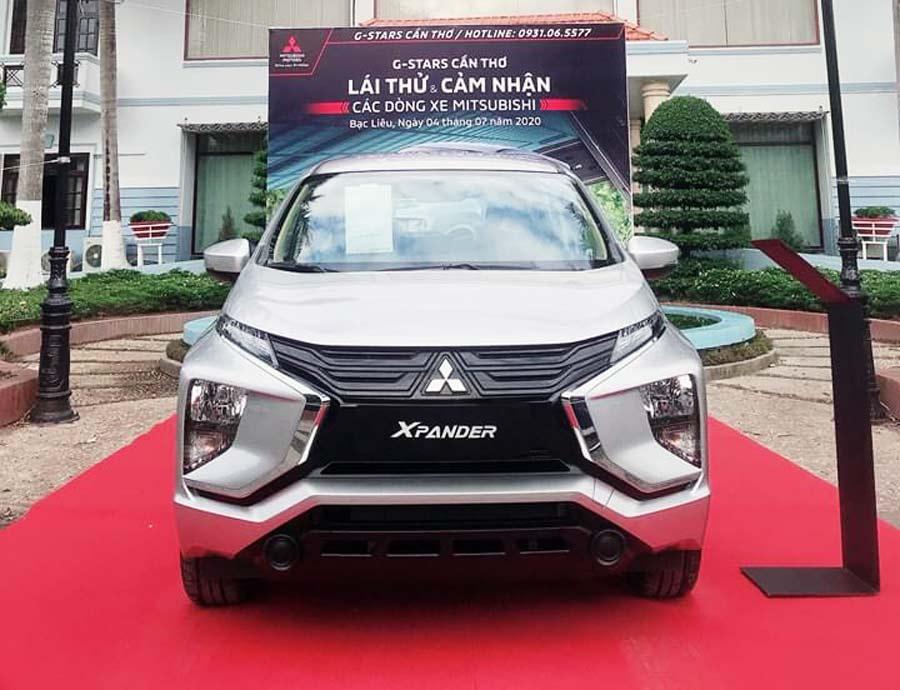 Lái thử xe Mitsubishi Xpander mới tại Bạc Liêu