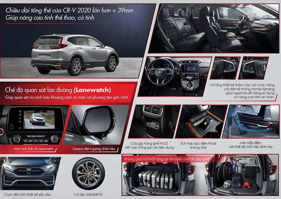 honda cr-v new 2020