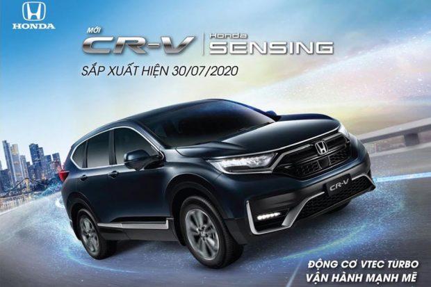 Honda CRV 2020 sắp ra mắt tại Việt Nam