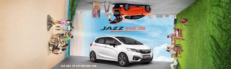 Honda Jazz banner