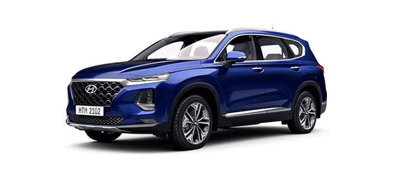Hyundai New Santa Fe - Banner