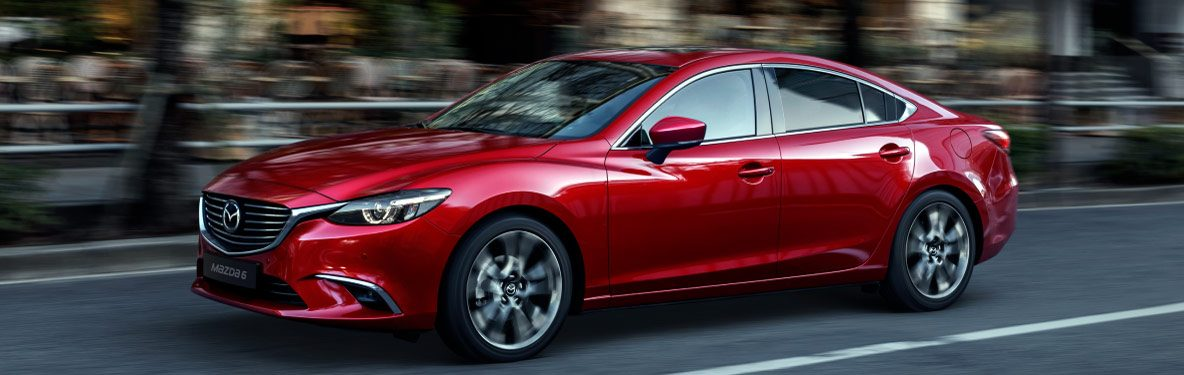 Mazda 6 banner