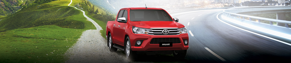 Toyota Hilux- Banner