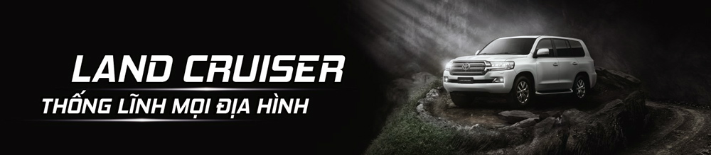 Toyota Land Cruiser - Banner