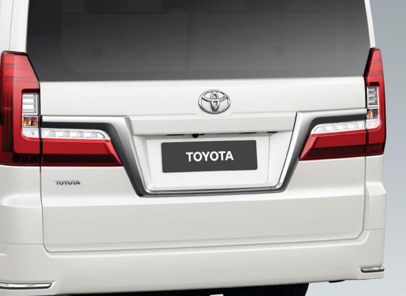 Đuôi xe Granvia - Toyota Cần Thơ