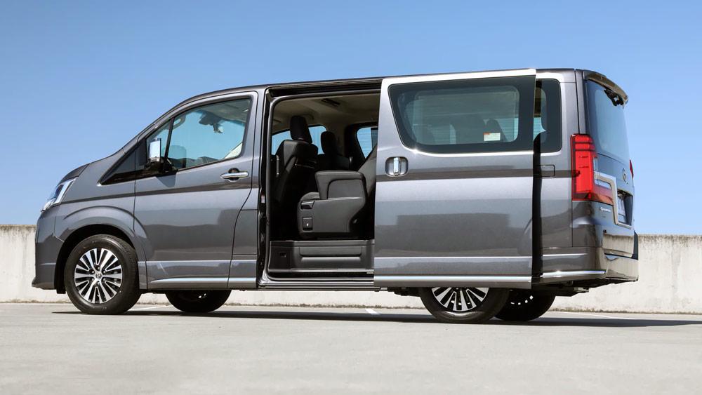 Thân xe Granvia - Toyota Cần Thơ