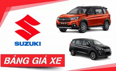Bảng giá xe Suzuki Cần Thơ & Khuyến mãi Mới