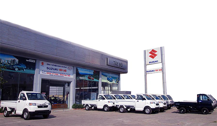 Tư vấn mua xe tải nhỏ Suzuki