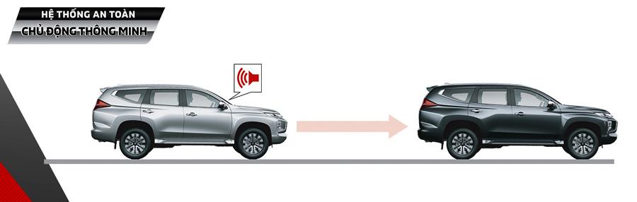 Hệ thống cảnh báo & Giảm thiểu va cạm phía trước (FCM).