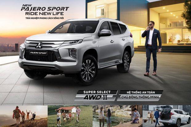 Thông số kỹ thuật Mitsubishi Pajero Sport 2020