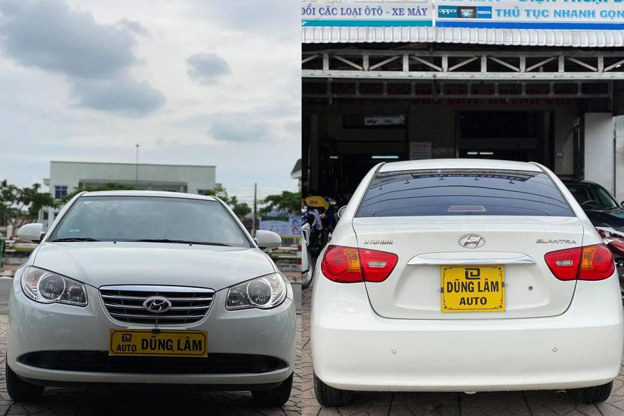Hyundai Elantra (màu trắng) Đời 2011