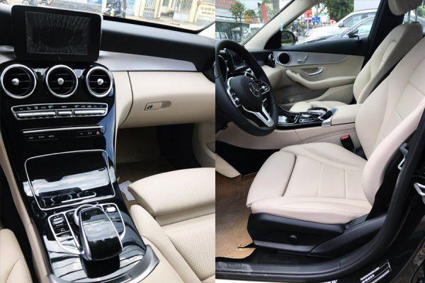 Mercedes C180 (nội thất màu be - chạy lướt): Mercedes cũ Cần Thơ