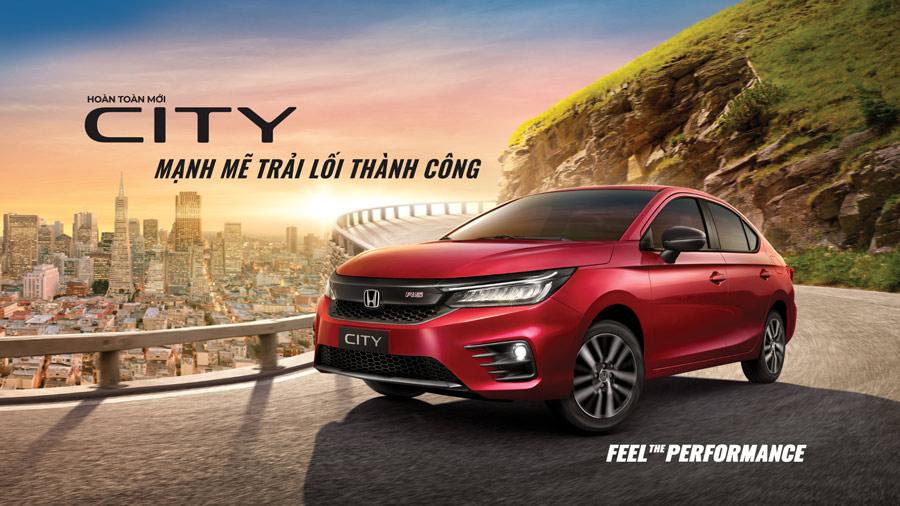 Honda City hoàn toàn mới - Mạnh mẽ trải lối thành công