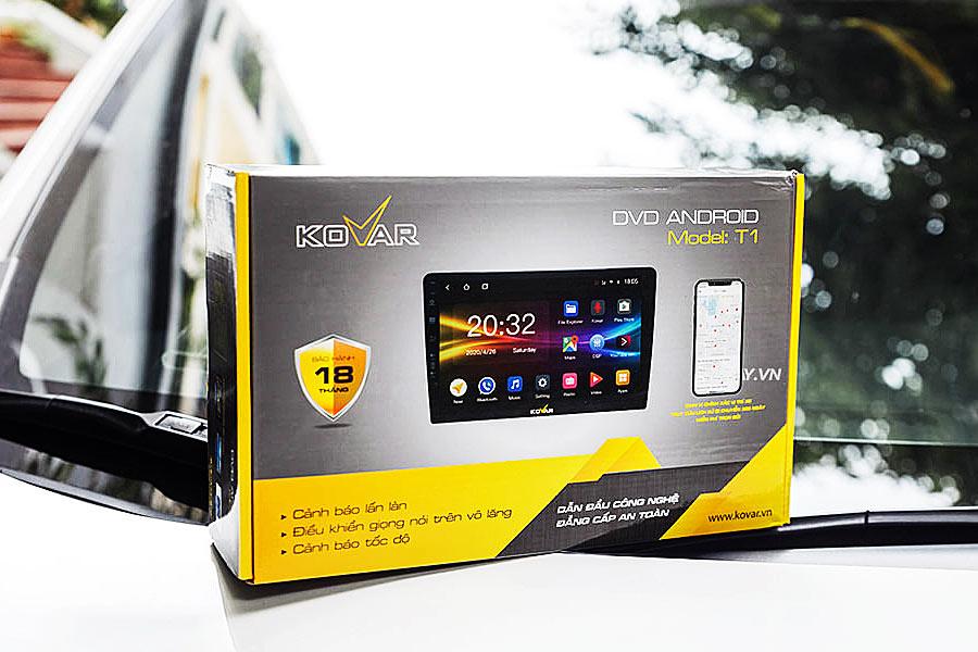 Kovar: DVD Android cho xe ô tô Cần Thơ