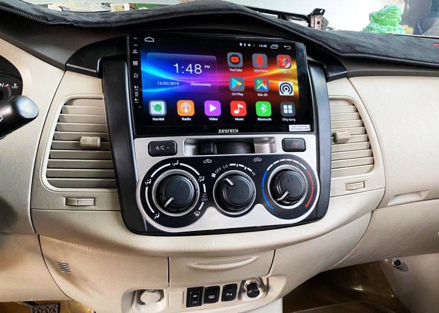 Xưởng độ xe Ô tô Sinh là cửa hàng phân phối chính hãng Màn hình DVD Android Zestech tại Cần Thơ