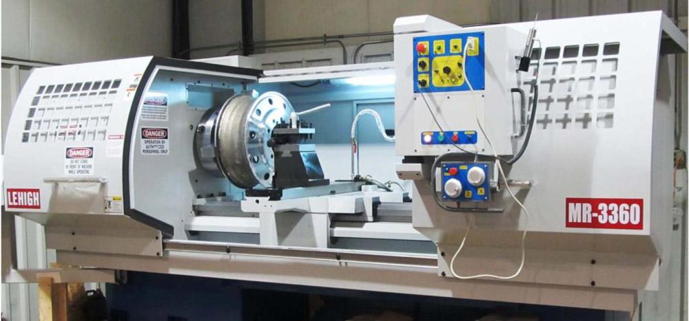 Hình ảnh máy tiện CNC cho mâm xe