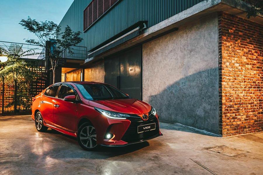 Toyota Vios 2021 - Giá bán, thông số, hình ảnh chi tiết
