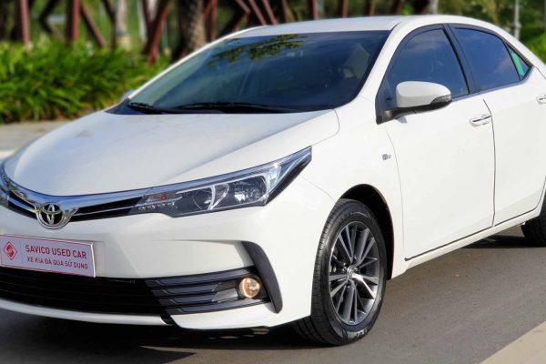 Trung tâm ô tô cũ Cần Thơ: Toyota Corolla Altis 1.8G 2018