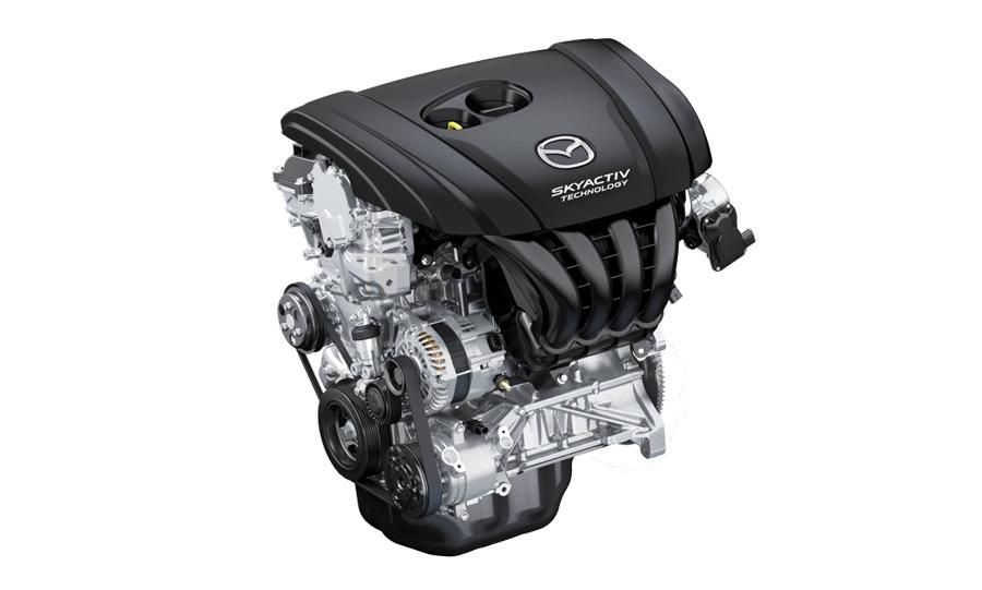 Mazda CX-3 được trang bị động cơ Skyactiv-G Mới