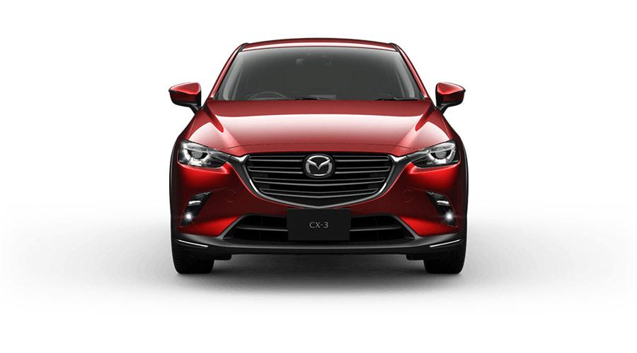 Thiết kế đầu xe Mazda CX-3 mang đậm dấu ấn của thương hiệu