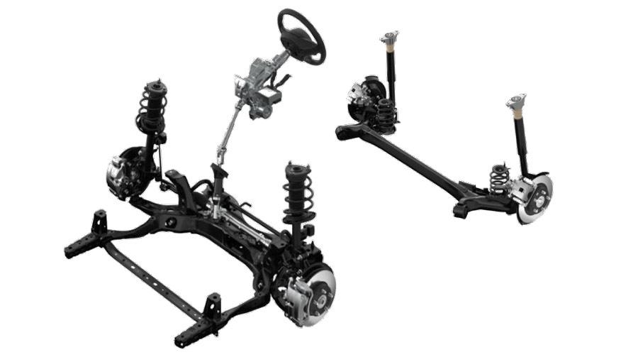 Hệ thống treo và thanh cân bằng trên Mazda CX-3