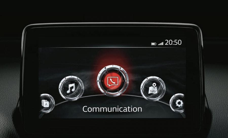 Màn hình trung tâm Mazda Connect 7 inch