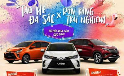 Toyota Cần Thơ khuyến mãi Vios & Wigo 2021 Mới