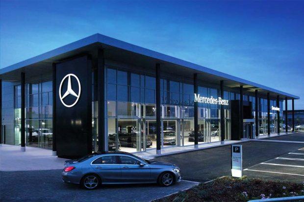 Đại lý Mercedes-Benz Miền Tây chuẩn bị khai trương