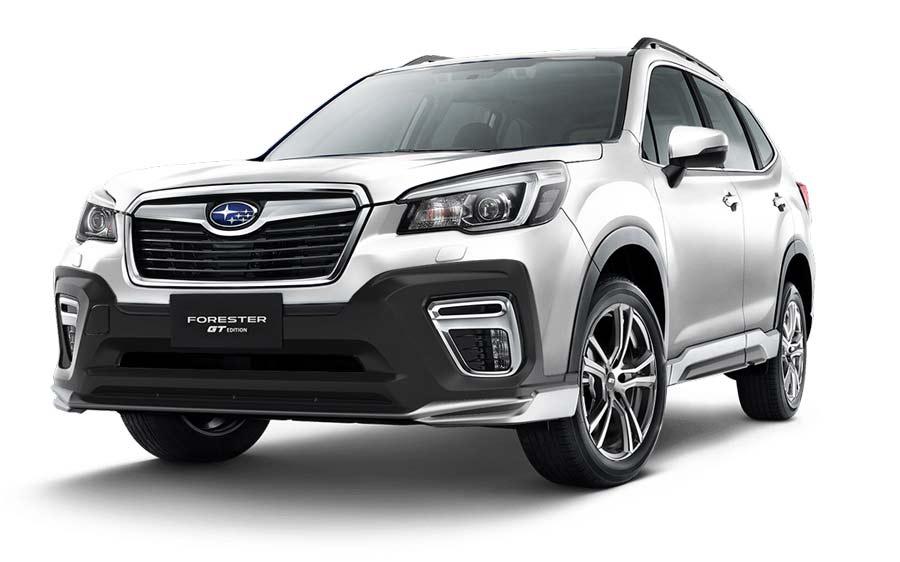 Subaru Forster màu bạc