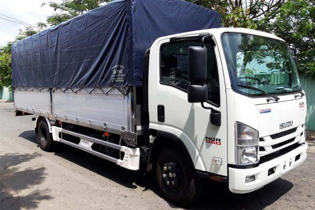 Xe tải Isuzu NQR 550 Cần Thơ: Báo giá & Mua Trả Góp