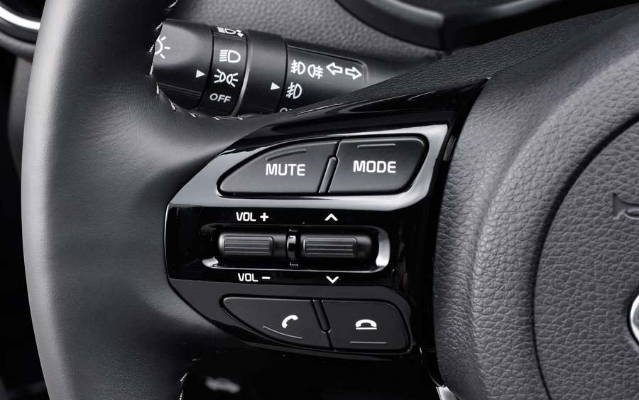 Chế độ điện thoại rảnh tay trên Kia Soluto